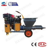 China Backfill Grouting Mortar Plastering Machine Cement Spraying Machine For Mining Well wholesale