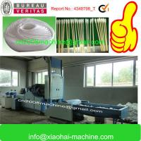 Strip Cotton Strip Roll Making Machine For Ear Swab , 3-4 Rolls One Time