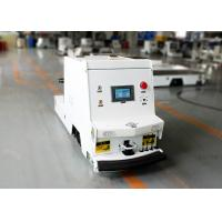 Single Way Traction Type AGV Cart , AGV For Material Handling 1000kg Towing Capacity