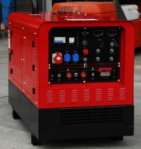 China AC Stick 12kw Diesel Welding Generator FCAW Amperage 450A / 480A Arc Welder 75V Circuit Voltage on sale