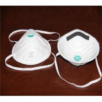 China Soft Cotton N95 Face Mask , Non Woven N95 Respirator Mask Water Soluble on sale