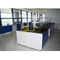 China Durability laboratory worktops with black color , epoxy lab countertops wholesale
