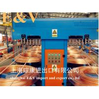 China Low Oxygen 8mm Copper Rod Upward Casting Machine With 7920H Working Hour wholesale
