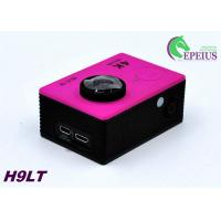 China Mini 30M H9 LT 4k Sports Action Camera With Seven Colors Full Accessories wholesale
