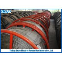 Buy cheap 30mm 540kN T29 Anti twisting Braided Galvanized Steel Wire Rope Line Stringing from wholesalers