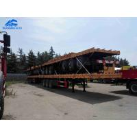 China Quickly Loaded Unloaded Container Semi Trailer 2 Axles 3 Axles 40-50 Tons on sale