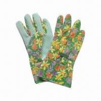 China Promotional Garden Gloves, Made of Cotton wholesale
