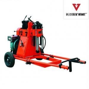 Buy cheap Plataforma de perforación portátil del cilindro gemelo pequeña con el motor diesel GY-50-1 from wholesalers
