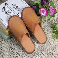 Buy cheap Fashion Terry Towel Slippers , Color Cutomized Disposable Cheap Hotel Slippers from wholesalers