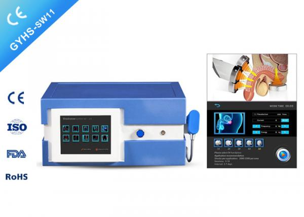 Quality ED Treatment Pain Reduction Extracorporeal Shockwave Therapy Machine With 5 Probes for sale