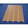 "China 8 Feet 96"" X 3/4"" X 12"" PVC Slatwall Panels / Interior Wall Panels For Laundry wholesale"