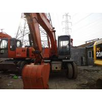 China Used HITACHI WHEEL EXCAVATOR EX120WD FOR SALE ORIGINAL JAPAN on sale