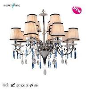 China Elegant Fountain 12 Lights Chandelier (P1553-8+4) on sale