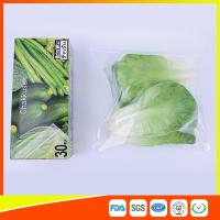 Buy cheap Resealable LDPEのゆとりの野菜のためのジップ ロック式のフリーザー貯蔵袋 from wholesalers