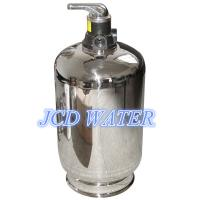 China Stainless Steel Automatic Commercial Water Softener For Chemical Industry on sale