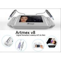 China Powerful Silver Body Digital Permanent Makeup Machine Kit For Anti Aging on sale