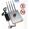 China jammer do telefone 3G móvel/construtor de controle remoto EST-505B com a antena 4 wholesale