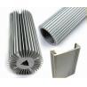 China Architectural Aluminium Profile , Circular Heatsink Extruded Aluminium Profile wholesale
