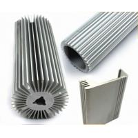 Electric Aluminum Heatsink Extrusion Profiles With Natural Oxidation Treatment for sale