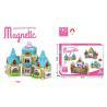 China 90 Pcs DIY Assemble Magetic Children's Plastic Building Blocks Multicolor Non - Toxic wholesale