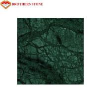 China Indian Emerald Green Marble Stone Tile , Green Granite Slabs For Hotel wholesale