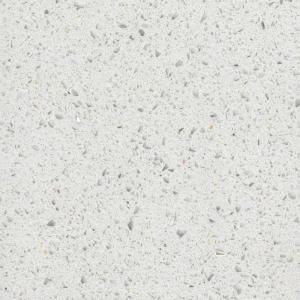 China White Mirror Artificial Quartz stone  Slab ,  Engineered Quartz Stone Countertop wholesale