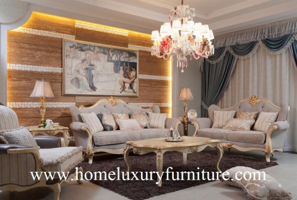 Quality 居間のソファーの一定のイタリアの古典的なソファーの会社の生地のソファーの家具製造販売業FF101 for sale