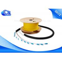 China 3G 4G Wireless Single Mode Armored Fiber Cable With Stainless Steel Tube wholesale