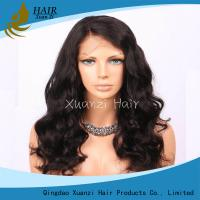 China 18-22 inch 360 Full Lace Wigs , 360 Brazilian Virgin Hair Full Lace Fake Hair wholesale