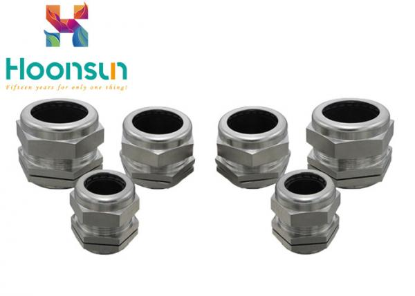 Quality M72 Metal Mechanical Stainless Steel Cable Gland Dustproof Salt Resistant for sale