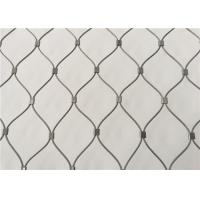 Buy cheap AISI 316 Grade Stainless Steel Wire Rope Mesh Anti - Falling Mesh Fence from wholesalers