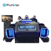 China 6 Seats 9D Virtual Reality Cinema VR Multiplayer Game Car Equipment With ISO9001 wholesale