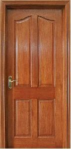 Quality Mahogany Wooden Door (KD04B) for sale