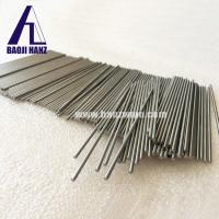 China Hanztech round solid customized Wolfram tungsten rods bar for sale wholesale