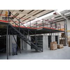 China Steel Q235 / 245 Industrial Mezzanine Floors Capacity 500kg - 4000kg / Sqm wholesale