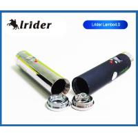 China Rechargeable 510 Lava Tube Ecig , Chromes Lavatube Lambo 4.0 With Clearomizer on sale