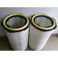 China pleated Air dust filter cartridge for graphite dust collector wholesale