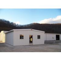 Buy cheap Color Steel Sheet Steel Structure Workshop With Windproof Bolts Connection from wholesalers