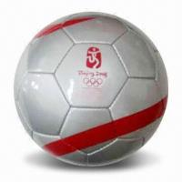 China Soccer Ball, Made of PVC, OEM Orders are Welcome wholesale