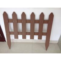 China wood plastic composites fencing easy installation wholesale