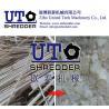 China manufacture high output double shaft shredder, plastic granulator, plastic shredder, PVC pipe shredder, tube crusher wholesale