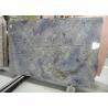 China Brazil Azul Bahia Granite Wall Panels Kitchen Granite Slab For Background Wall Landscape wholesale