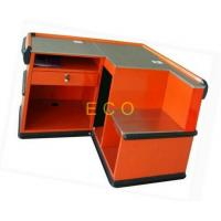 China Supermarket Cash Desk Grocery Store Checkout Counters , Clothing Store Checkout Table Stand wholesale