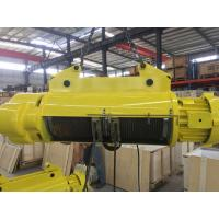 China Yellow / Red Color Wire Rope Crane Hoist 0.25 To 20 Ton Cd Type For Construction wholesale