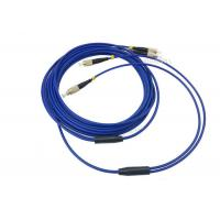 China 3m / 5m 2 Cores SM Armored Fiber Patch Cable , LC FC SC ST Duplex Patch Cord on sale