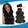 China Loose Wave Virgin Peruvian Hair Bundles Grade 7A , Malaysian Body Wave Hair Weave wholesale