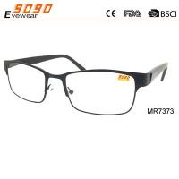 China Hot selling reading glasses with metal frame Power rang : 1.00 to 4.00D wholesale