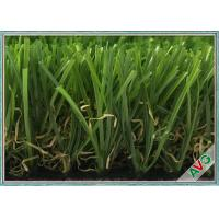 China AVG Outdoor Artificial Turf Decorative Grasses With 35 MM Height Green Color wholesale