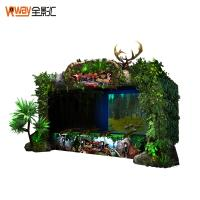 China Multiple Player Motion Sensing Games 4D Crazy Hunting Game Projector Screen wholesale
