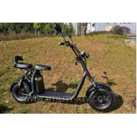 China High Speed Fashion 2 Wheels Mobility Electric Scooter Motorcycle F / R V Brake on sale